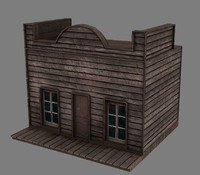3dsmax ready western house