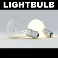 3d model lightbulb light bulb