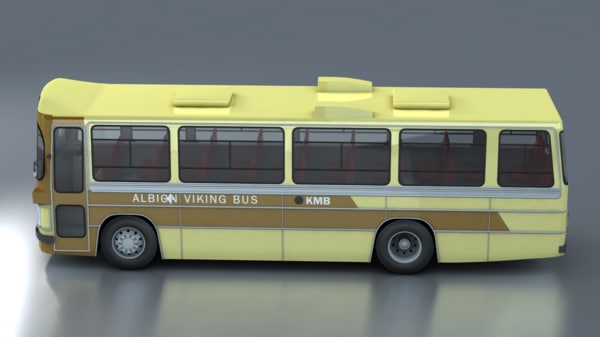 3ds max hong bus albions viking - Albion Viking Bus... by johnnyeung