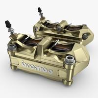 brembo caliper brake 3ds