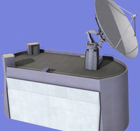 maya parabolic antenna radio telescope