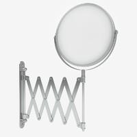 3dsmax mirror shaving bathroom