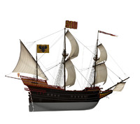 Spanish Treasure Galleon