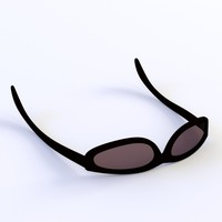 glass sun sunglasses 3ds