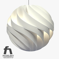 maya lamp shade turbo light