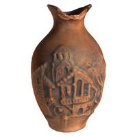 3d model clay pot