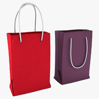 3dsmax shopping bag