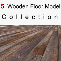 Wooden Planks Floor Collection