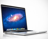 3d model 17 inch macbook pro