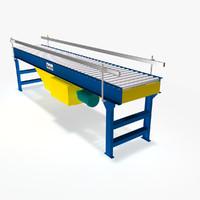 3ds live roller flat belt