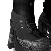3d warrior boot female shoe