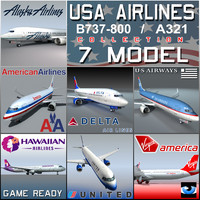USA AIRLINES Collection