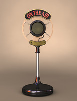 Radio Broadcast Microphone