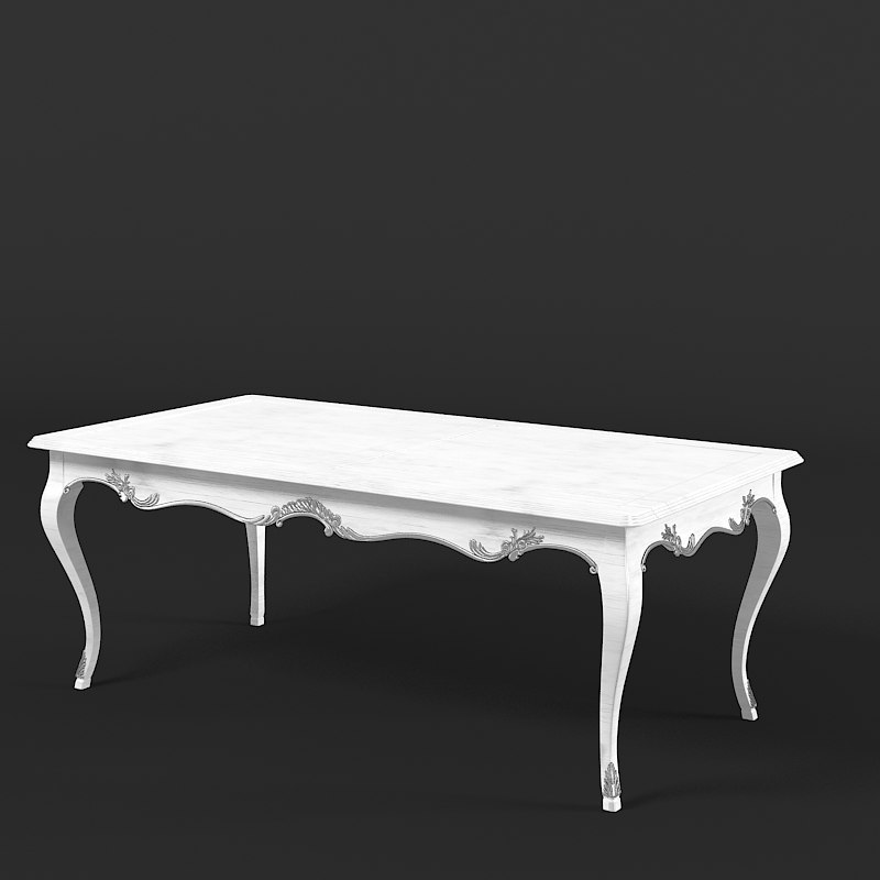 Moissonnier Dining Table Regency  classic caved vintage old antique aged french0001.jpg