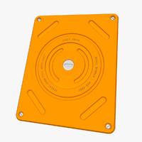 3d model portable hard drive concept