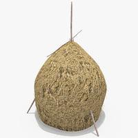 3d romanian hay model
