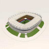 3d model bucharest arena stadium