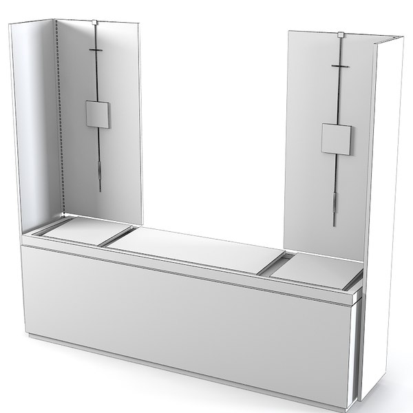 tressera modern conrtemporray 3d model - Tressera Modern conrtemporray luxury commode... by shop3ds