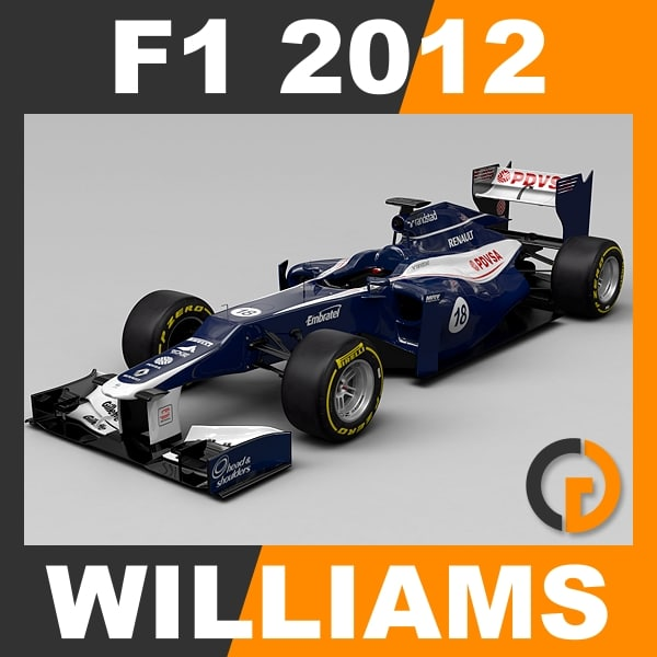 F1 2012 Williams FW34 - Williams F1 Team