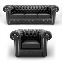3d model chair sofa armchair