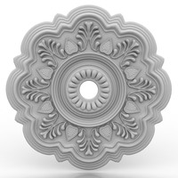 Ceiling medallion 11