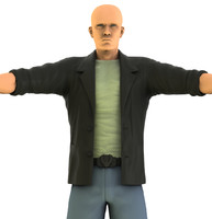 3ds max male character