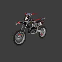 low poly dirt bike 01