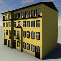 house 3d c4d
