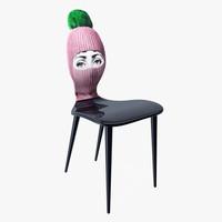 chair 3d dwg