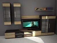 free c4d model room