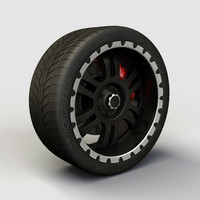 alloy ion 195 rims 3d max