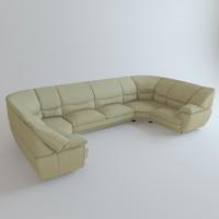 sofa venice 3d max