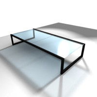 metal table obj free