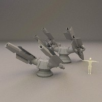 SCIFI Cannon set