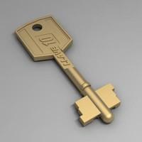 house key 3d max