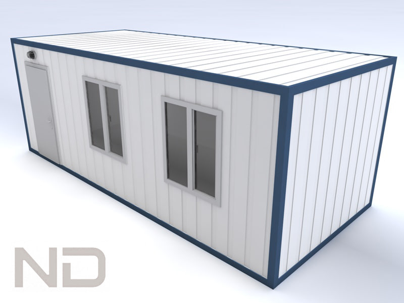 3d House Shipping Container Model