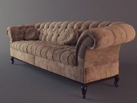 3d sofa baxter