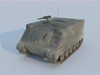 army apc m113 3d max