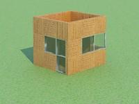 garden house 3d model