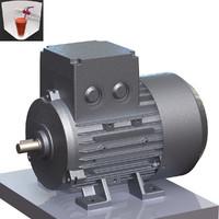 3d model 63 electric motor
