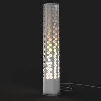 3ds max anemoni floor lamp