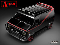 A-Team GMC van STD MAT