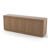 3ds max ceccotti modern sideboard