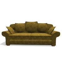 fabric sofa 3d 3ds