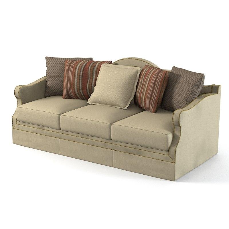 Henredon Opulence Sofa 3d X
