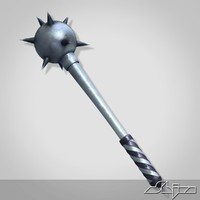 mace morningstar 1 3d model