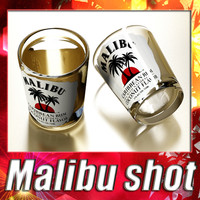 Malibu Shot Glass - High Detailed