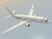 multimission aircraft p-8a poseidon 3d dwg