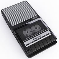 3d panasonic rq-2102 portable cassette model