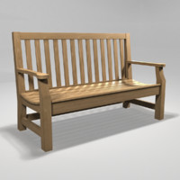 Park Bench Wood